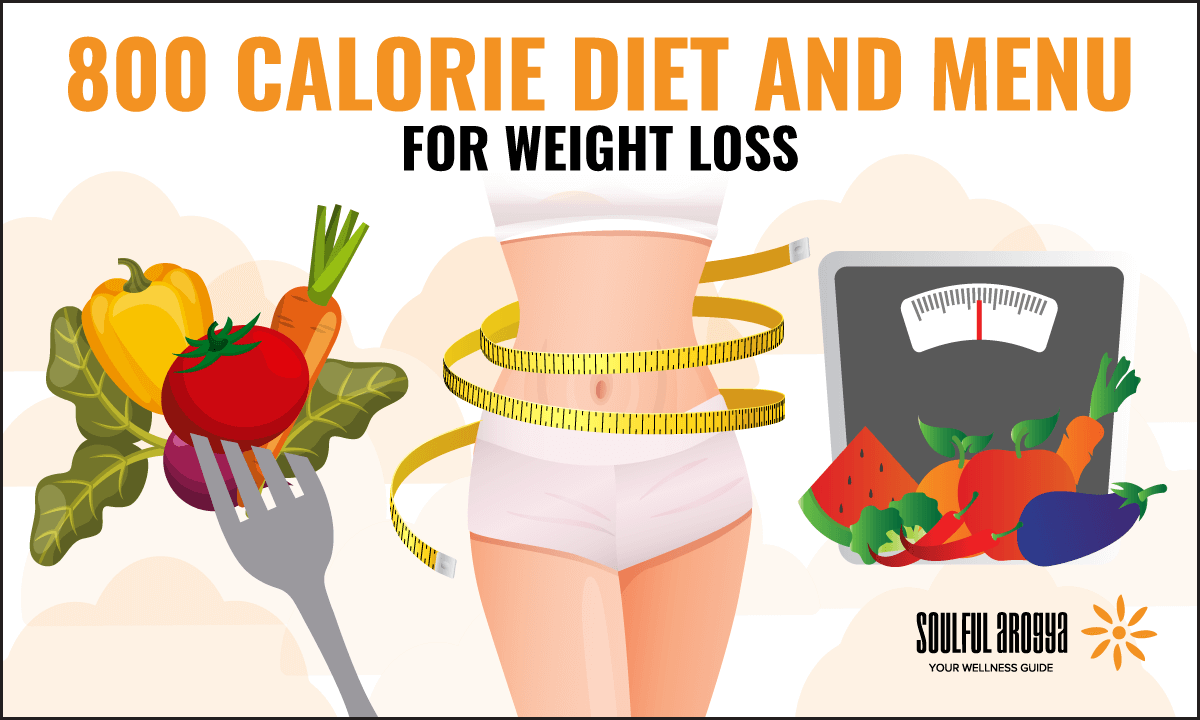 800 Calorie Diet and Menu for Weight Loss