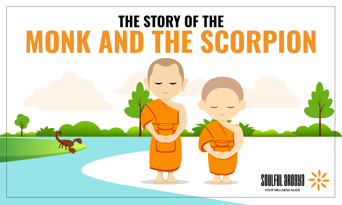 The Story of the Monk and the Scorpion