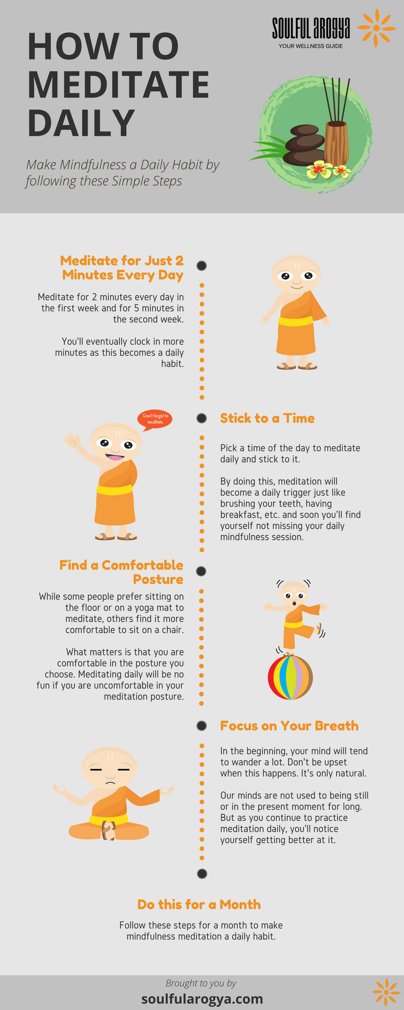 How to Meditate Daily [Infographic]