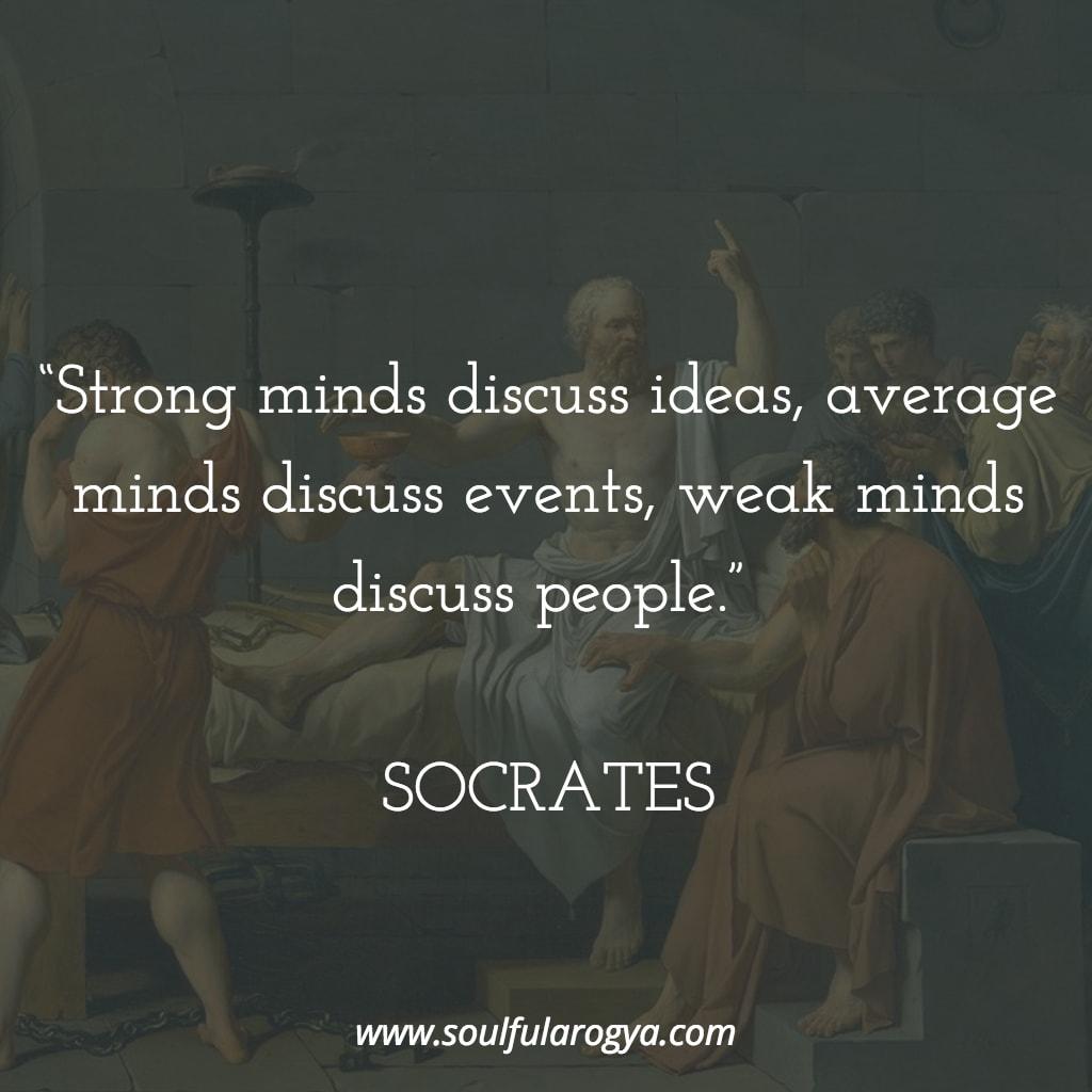 Socrates on Weak Minds
