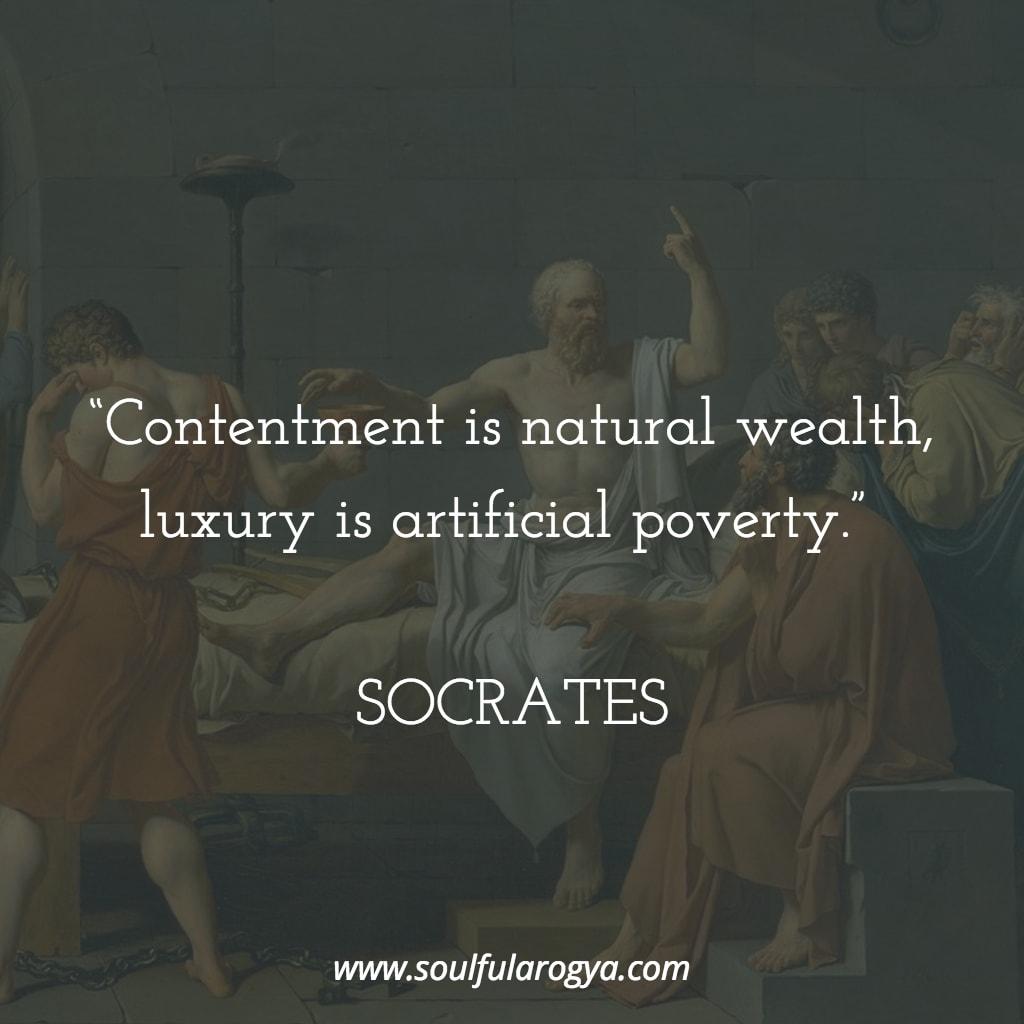 Socrates on Wealth