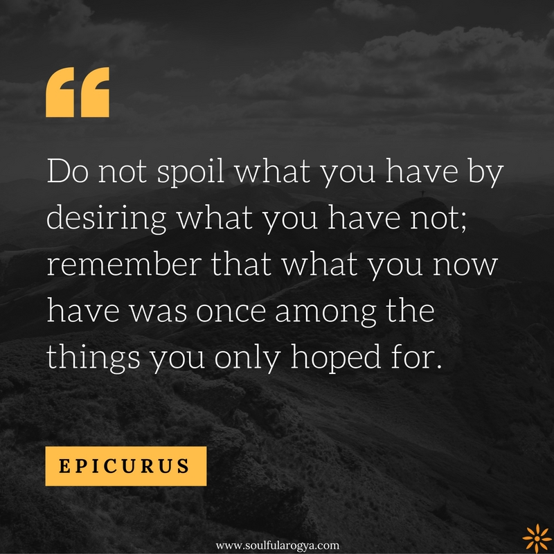 Epicurus-Quote
