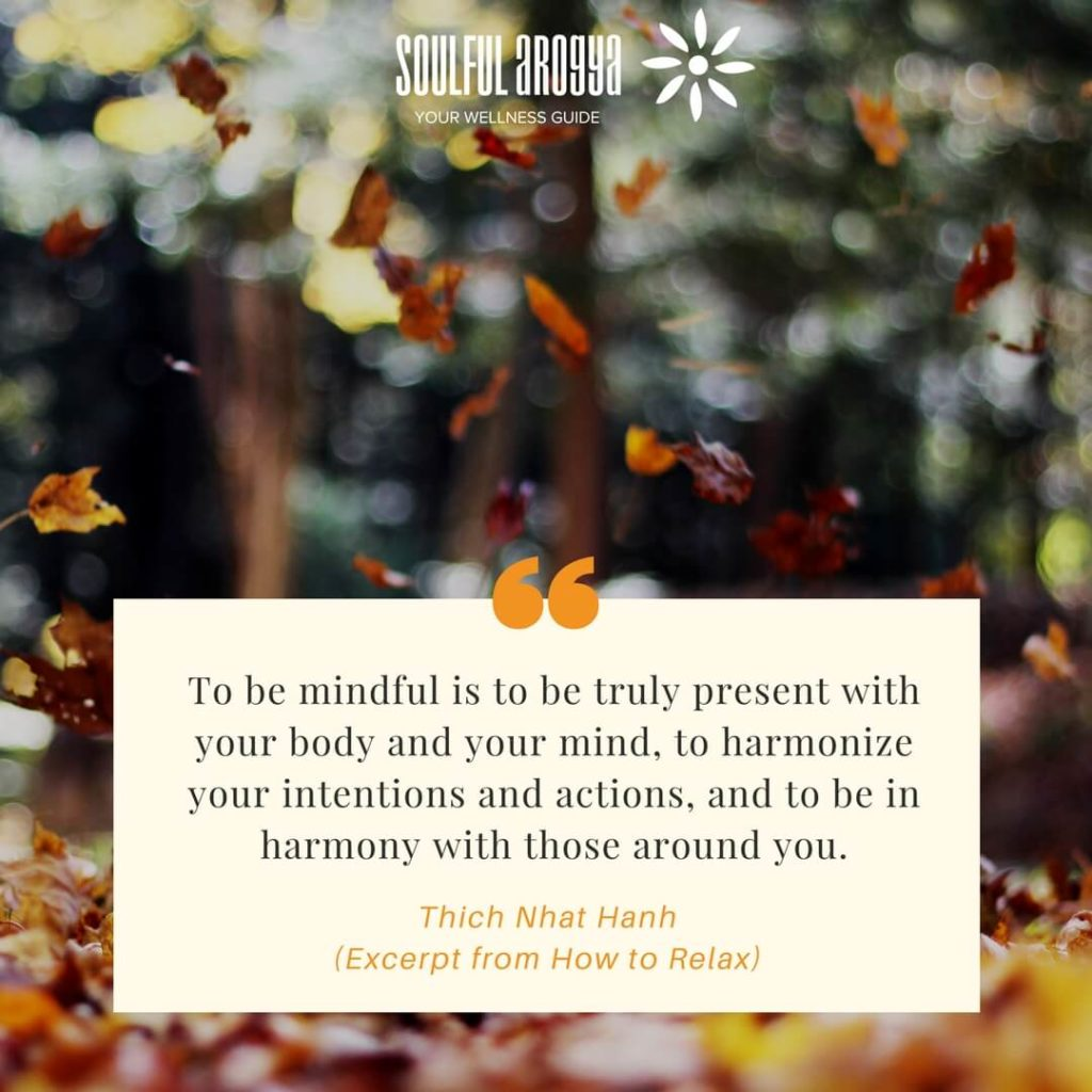 Excerpt from How to Relax - Thich Nhat Hanh