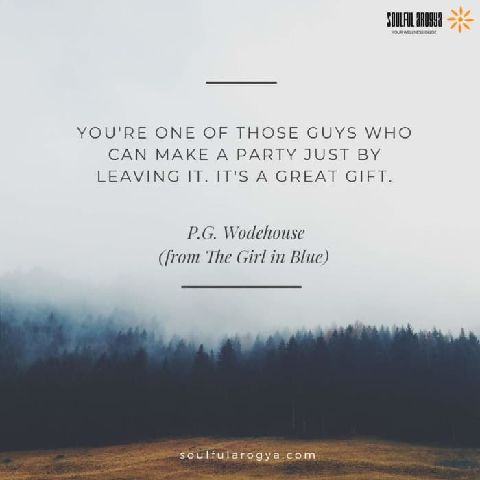 Wodehouse Quote