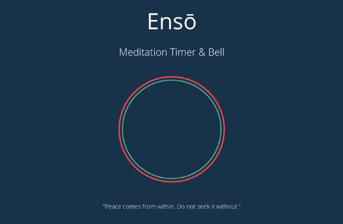 Ensō Meditation Timer