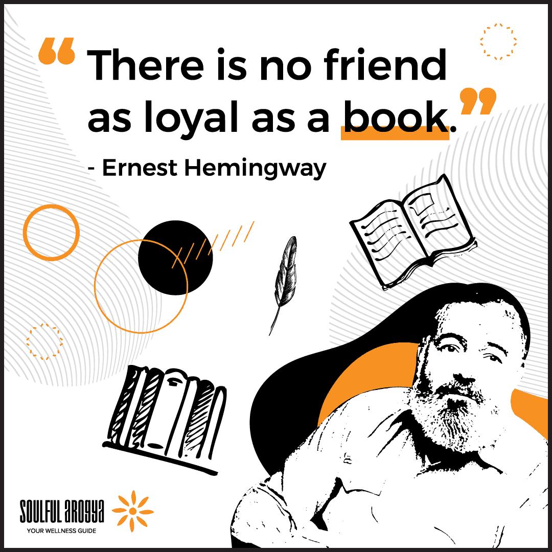 Ernest Hemingway Quote 2 - Soulful Arogya Quotes
