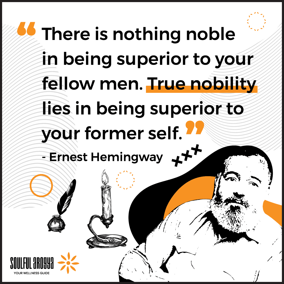 Ernest Hemingway Quote 3 - Soulful Arogya Quotes