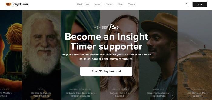 Insight Timer - Membership