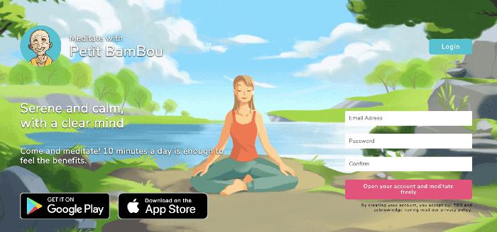 Petit BamBou Meditation App