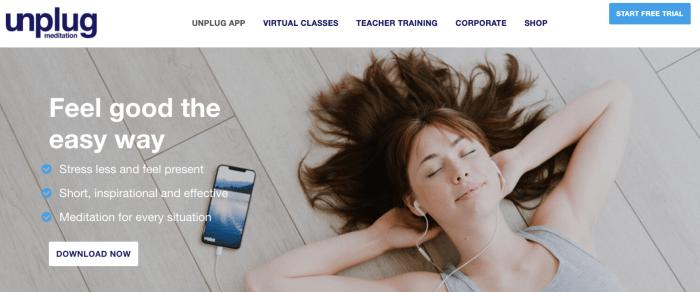 Unplug Meditation App